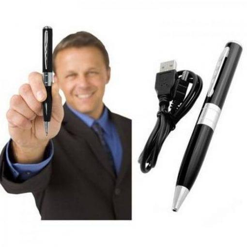 Bút camera siêu nhỏ ngụy trang 8GB là lựa chọn số 1 hiện nay trên thị trường máy ngụy trang quay hình lén.