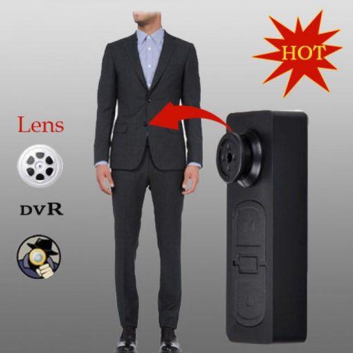 Cúc áo camera ngụy trang khéo léo S918 là thiết bị hỗ trợ ngụy trang quay lén tốt nhất hiện nay