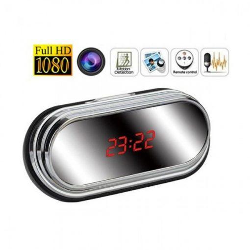 Đồng hồ để bàn camera HD Q1 hỗ trợ quay lén bí mật và an toàn.