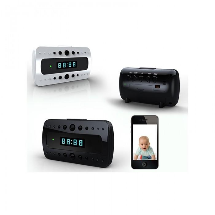 Đồng hồ để bàn camera hỗ trợ quay đêm V26 mang đến cho bạn sự lựa chọn quay lén tốt nhất.