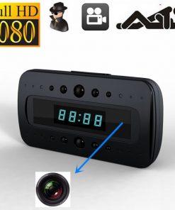 Đồng hồ để bàn camera hỗ trợ quay đêm V26 hỗ trợ ghi hình quay lén siêu nét