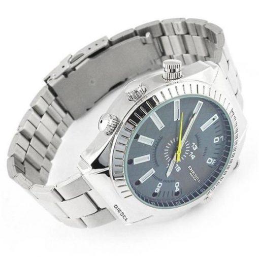Đồng hồ đeo tay camera đây sắt W4000 Full HD quay đêm hỗ trợ ghi hình siêu nét.