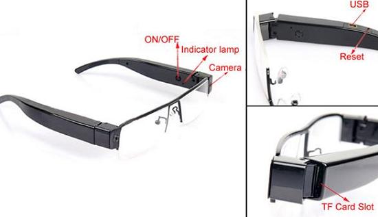 Mắt kính camera V13 Full HD là sự lựa chọn mà khách hàng không thể bỏ qua