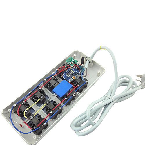 Máy nghe lén ngụy trang ổ cắm điện không cần sạc pin giúp việc nghe lén thật an toàn.
