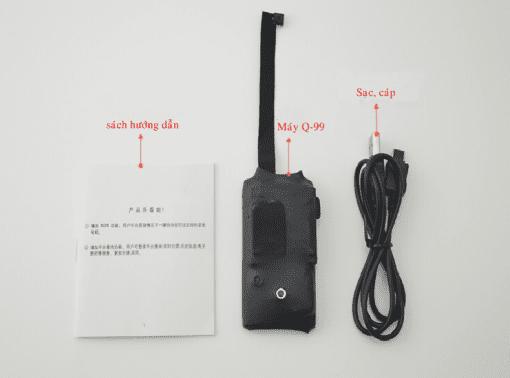 Máy nghe lén Q99 là thiết bị hỗ trợ nghe lén tốt nhất hiện nay