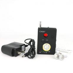 Máy phát hiện nghe lén cực nhạy CX007 giúp bạn rà và phát hiện máy nghe lén
