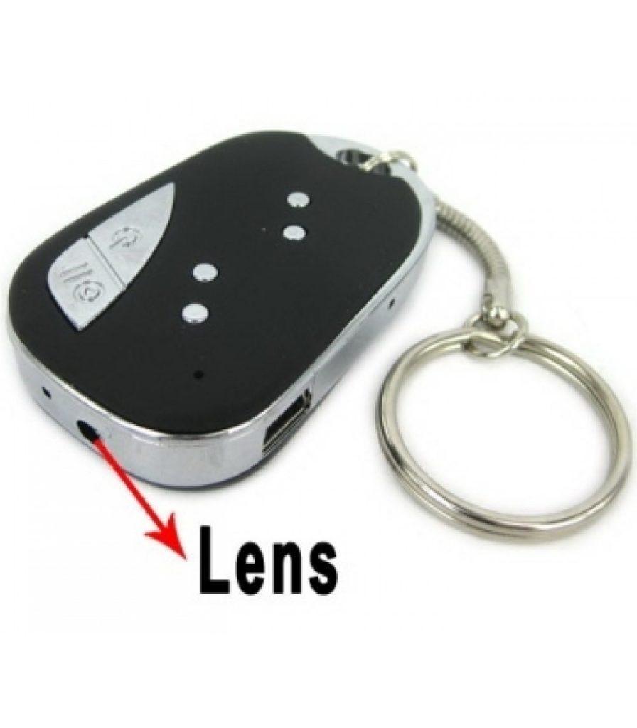 Móc khóa camera CK909 với những tính năng hỗ trợ ghi hình siêu nét.