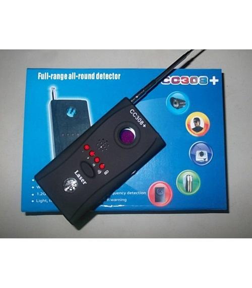 Thiết bị phát hiện máy nghe lén, nghe trộm CC308 giúp bạn thêm phần an tâm