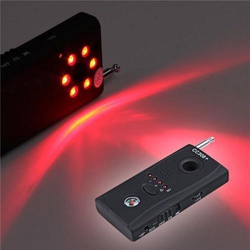 Thiết bị phát hiện máy nghe lén, nghe trộm CC308 dễ sử dụng mọi nơi