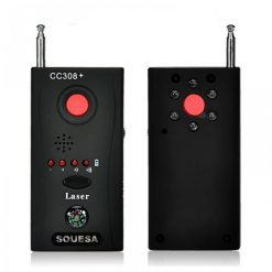Thiết bị phát hiện máy nghe lén, nghe trộm CC308 chính xác nhất hiện nay