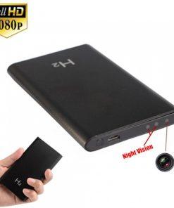 Camera ngụy trang pin dự phòng H2 với thiết kế đơn giản dễ sử dụng trong mọi trường hợp
