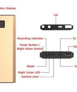 Camera ngụy trang sạc dự phòng M5 với khả năng ghi hình Full HD