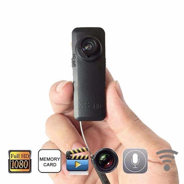 Camera ngụy trang wifi cúc áo siêu nhỏ điều khiển từ xa qua điện thoại