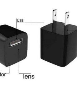 Sạc camera wifi Z99 thiết kế đơn giản hỗ trợ ghi hình lén chất lượng