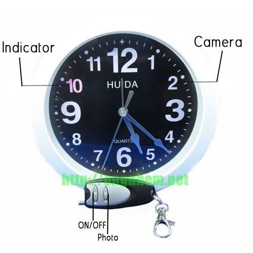 Camera ngụy trang đồng hồ treo tường W39 với thiết kế đơn giản nhưng sở hữu những tính năng đầy mạnh mẽ