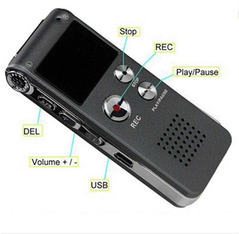 Máy ghi âm RV11 8GB Pro sở hữu đa chứng năng hỗ trợ ghi âm chất lượng cao
