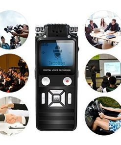 Máy ghi âm siêu lọc âm 8GB được sử dụng cho nhiều trường hợp thu âm khác nhau